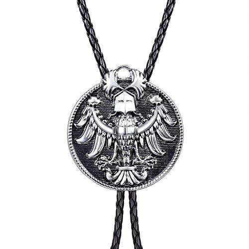 masop-american-western-cowboy-bolo-tie-animal-style-necktie-eagle-ornament-silver-color