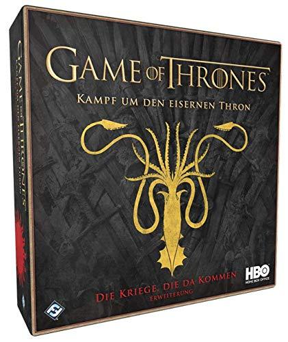 Fantasy Flight Games FFGD0124 Game of HBO: Kampf um den Eisernen Thron-Die Kriege, die da kommen Erweiterung