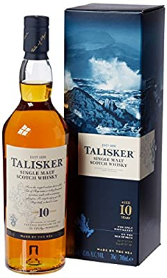 Talisker 10 Year Old Single Malt Scotch Whisky 70 cl