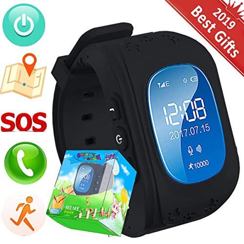 Reloj Niños,TURNMEON Kids Smartwatch GPS Tracker