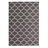 Casa Padrino Design Carpet Grey - Designer Carpet, grösse:160 x 230 cm