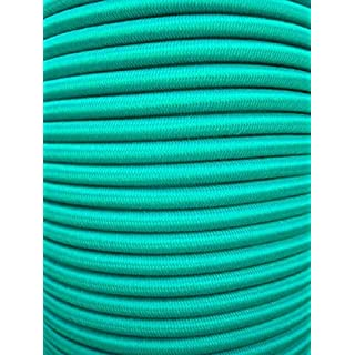 20m Expanderseil 6mm grün Gummiseil Planenseil Spannseil elastisches Seil Plane