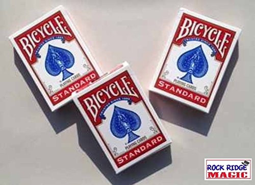 Masters Bicycle Combo: Invisible, Svengali and a Standard Deck Red Back by Rock Ridge Magic