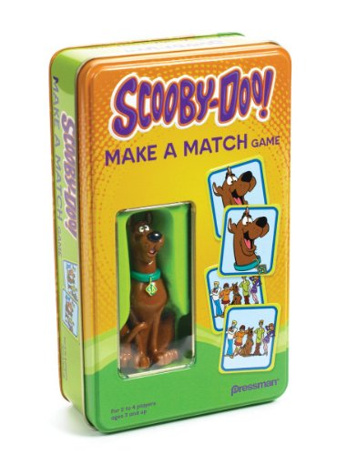 Pressman Scooby Doo Make a Match in a Tin
