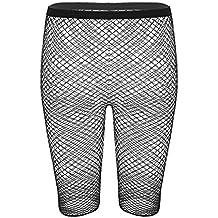 iiniim Medias Panty Ropa Interior para Mujer Leggings Microfibra Lencería Sexy Medias de Rejilla de Red