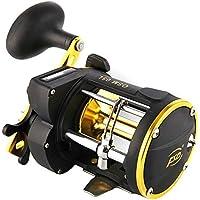 Carrete de pesca giratorio para barco, con diseño de tracción, con alarma
