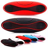 Kartik Rugby Style Wireless Stereo Portable Speaker|| Multimedia Speaker System || Portable Mini Bluetooth Speaker With MP3 Player, USB & Micro SD Card Slot Compatible With All Android And IOS Devices - Assorted Colour