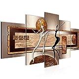 Quadro Figure astratte 200 x 100 cm - XXL Immagini Murale Stampa su Tela Decorazione da Parete Pronte per l'applicazione - 302451b