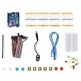 Vicoki UNO R3 Breadboard LED Brot Linie Widerstand Kit Grundstufe für Arduino