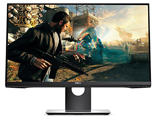 Dell S2417DG 24-inch Gaming Monitor QHD (2560 x 1440 @ 165Hz), HDMI, DisplayPort, NVIDIA G-SYNC 1ms Response Time - Black