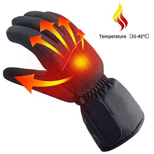Winter Radfahren Handschuhe, Batterie beheizte Handwärmer Tool Outdoor Kalt Wetter Handsc