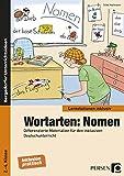 Wortarten: Nomen: Differenzierte Materialien für den inklusiven Deutschunterricht (2. bis 4. Klasse) (Lernstationen inklusiv)