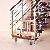Trixie 3944 Hunde-Absperrgitter für Treppen und Türen, 63-108 x 50 x 31 cm - 3