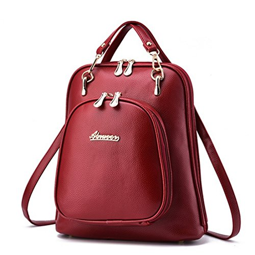 FOLLOWUS , Sac à main porté au dos pour femme, blanc (Blanc) - G72216A rouge