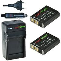 ChiliPower Fuji NP-95, NP95 Kit: 2x Batterie (1900mAh) + Chargeur pour Fujifilm Finepix X100S, X100, F30, X-S1, F31fd, Real 3D W1, BC-65