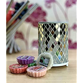 Official Yankee Candle Mosaic Wax Melt Warmer Burner With