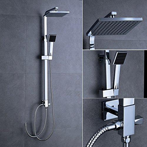 duschpaneel ohne armatur vergleich einkaufstipps f r. Black Bedroom Furniture Sets. Home Design Ideas