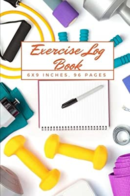 exericise log book workout journal tracker gym training log book