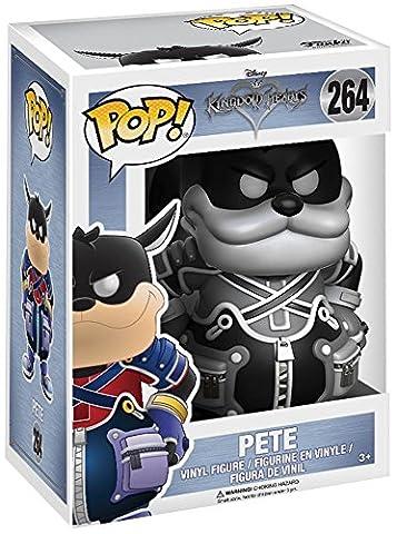 Funko - Figurine Disney Kingdom Hearts - Pete B&W Exclu Pop 10cm - 0889698123686
