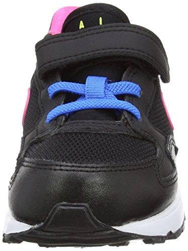 Nike Air Max St (Tdv), Chaussures de Football Bébé Garçon Noir / Rose / Blanc / Bleu (Noir / Rose Pow Bleu-Blanc-ht)