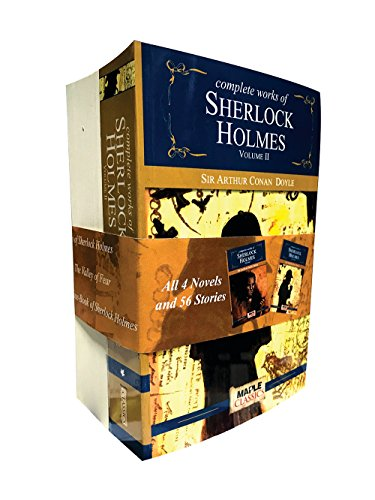The Complete Sherlock Holmes (Set of 2 Books)
