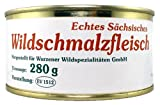 Wild Schmalzfleisch - 2 Dosen je 280g - Wurzener Wildspezialitäten