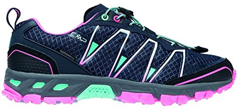CMP Damen Altak Traillaufschuhe, Blau (Navy-Pink Fluo-A.Marina 98bd), 39 EU