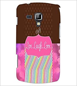 PrintDhaba Quote D-3947 Back Case Cover for SAMSUNG GALAXY S DUOS 2 S7582 (Multi-Coloured)