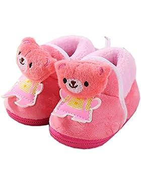 Calzado de invierno Unisex Zapatos de bebé Botines para niños Zapatos para caminar para bebés Regalo de bienvenida...