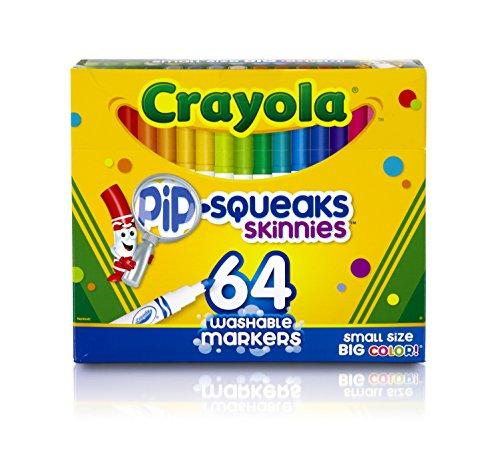 Crayola 58-8764Multi Paint Marker-Marker, Malerei (Multi, Grün, Gelb, 64Farben, Jungen/Mädchen)