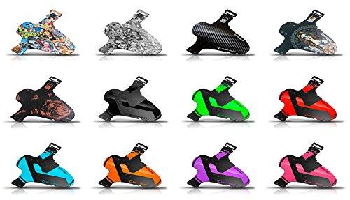 rie:sel design schlamm:PE Front Mudguard 26-29 carbon 2018 Schutzblech