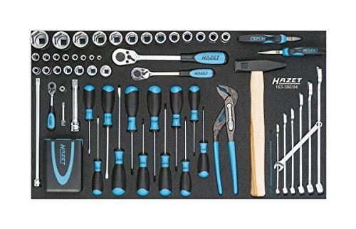 Hazet Werkzeug-Satz-Grundsortiment, klein, 163-386/94