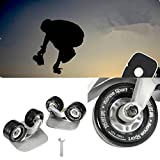 CAMTOA Cool Outdoor Freeline Skates Aluminum Alloy Drift Roller Skateboard (links & rechts) Mit Wrenth