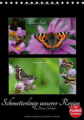 Schmetterlinge unserer Region (Tischkalender 2018 DIN A5 hoch): Das perfekte Geschenk für jeden Schmetterlings-Liebhaber. (Familienplaner, 14 Seiten ) (CALVENDO Tiere)
