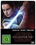DVD Cover 'Star Wars: Die letzten Jedi (2D & 3D Steelbook Edition) [3D Blu-ray] [Limited Edition]