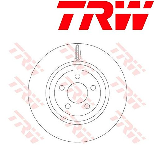 TRW DF6244S Disque de Frein