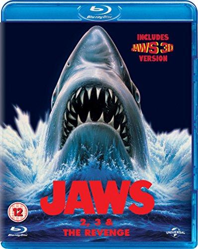 Jaws Box Set (Jaws 2/Jaws 3/Jaws: The Revenge) [Blu-ray] UK-Import, Sprache-Deutsch, Englisch...