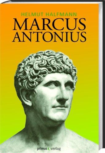 Buchseite und Rezensionen zu 'Marcus Antonius' von Helmut Halfmann