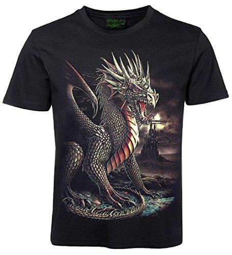 Biker T-Shirt Drache Größe XL - Xl Drache