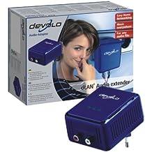 Devolo dLAN Audio extender adaptador y tarjeta de red - Accesorio de red (Alámbrico, Ethernet, 200 m, 6 W, 158 g, EN 60950 -1+ A11:2004; EN 55022: 2006; EN 50412-2-1)