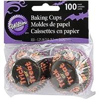 Mini tazze-Stripe di cottura zucca 100/Pkg
