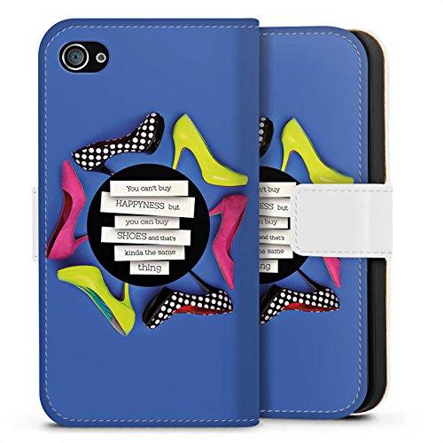 Apple iPhone X Silikon Hülle Case Schutzhülle Schuhe Schuhtick Shopping Sideflip Tasche weiß