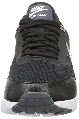 Nike Air Max 1 Ultra Essential, Chaussures de Running Compétition Femme Noir (Black/Black/White)