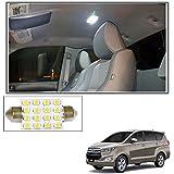 #5: Vheelocityin 16 SMD LED Roof Light White Dome Light for Toyota Innova Crysta