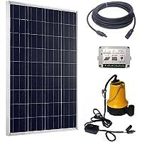 Eco-Worthy Solar Pump Complete Kit: 100W POLY