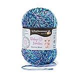 Schachenmayr Baby Smiles Merino Wool 9807396-01082 blau Handstrickgarn, Häkelgarn, Babygarn