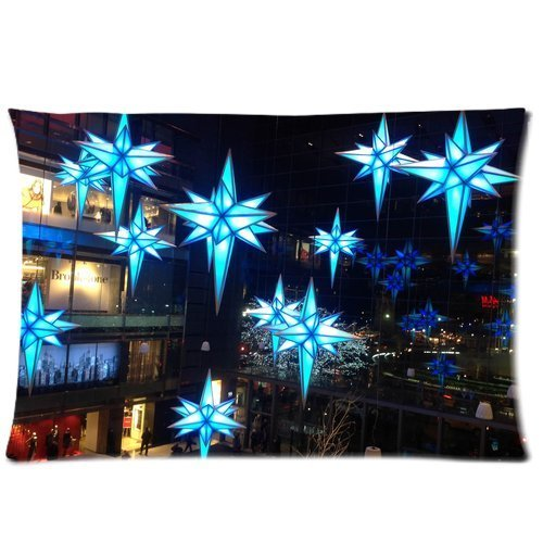 custom-queen-size-bed-pillowcase-diy-fashion-classic-pop-christmas-lightening-at-time-warner-buildin