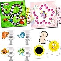 Zaubersticker-Set Belohnungssystem Autorennen Toilettensticker Lieblingstiere T/öpfchentraining mit Magic Potty