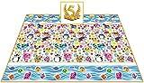 Per chi non si accontenta ! Questo splendido grande tappeto vi meravigliera' per la sua bellezza,colori e qualita' e per il suo spessore di ben 1,5 cm - Antiscivolo e antistrappo. - Batteri e funghi non possono penetrare il tappeto. - Adatto anche pe...