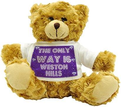 The Only Way Is Weston Hills-Ours en peluche 22 22 22 cm de haut environ B017NTNK98 e4a8f8